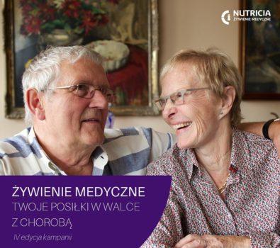 Żywienie medyczna - grafika kampanii